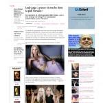 Lady gaga : grosse et moche dans la pub Versace ! -  J'adore les potins