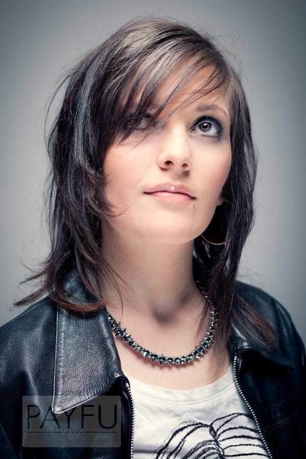 femme fiona mode rock attitude regard