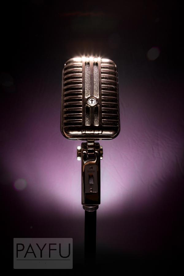 microphone soul rétro concert gospel chrétien évangélique